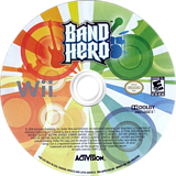 Band Hero Wii disc (SXFE52)
