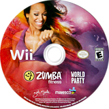 Zumba Fitness World Party Wii disc (SZ3E5G)