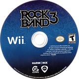 Rock Band 3 Wii disc (SZBE69)