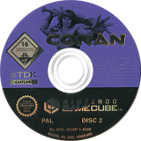 Conan GameCube disc (GC9P6S)
