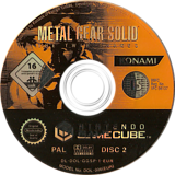 Metal Gear Solid: The Twin Snakes GameCube disc (GGSPA4)