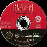 Medal of Honor: Rising Sun GameCube disc (GR8P69)
