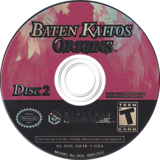 Baten Kaitos Origins GameCube disc (GK4E01)