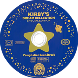 Kirby's Dream Collection: Special Edition Wii disc (S72E01)