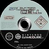 Tom Clancy's Splinter Cell GameCube disc (GCEP41)