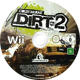 Colin McRae: DiRT 2 Wii disc (R69P36)