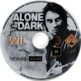 Alone in the Dark Wii disc (RRKP70)