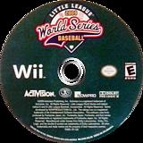 Little League World Series Baseball 2009 Wii disc (R7RE52)