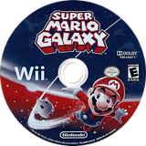 Super Mario Galaxy Wii disc (RMGE01)