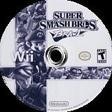 Super Smash Bros. Brawl Wii disc (RSBE01)