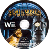 Night at the Museum: Battle of the Smithsonian - The Video Game Wii disc (RU7E5G)