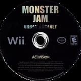 Monster Jam: Urban Assault Wii disc (RUAE52)