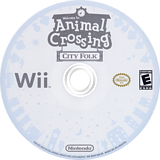 Animal Crossing: City Folk Wii disc (RUUE01)
