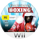 Don King Boxing Wii disc (R2KP54)