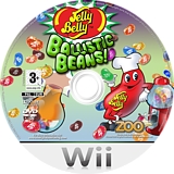 Jelly Belly - Ballistic Beans Wii disc (R7BP7J)
