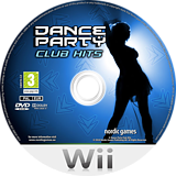Dance Party Club Hits Wii disc (R9QPNG)