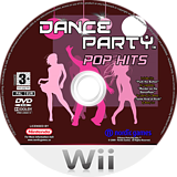 Dance Party - Pop Hits Wii disc (R9RPNG)