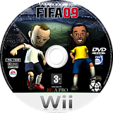 FIFA 09 All-Play Wii disc (RF9Y69)