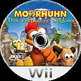 Moorhuhn - Das verbotene Schloss Wii disc (RHVPFR)