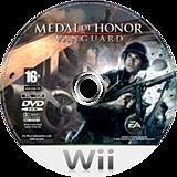 Medal of Honor: Vanguard Wii disc (RMVP69)