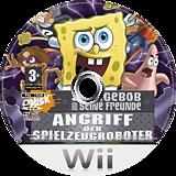 SpongeBob und seine Freunde: Angriff der Spielzeugroboter Wii disc (RN3P78)