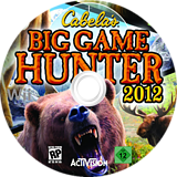 Cabela's Big Game Hunter 2012 Wii disc (SH6P52)