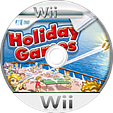 Holiday Games Wii disc (SHGDRM)