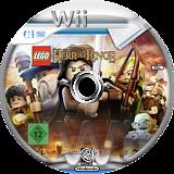 LEGO Der Herr der Ringe Wii disc (SLRPWR)