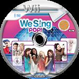 We Sing Pop! Wii disc (SQEPNG)