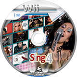 Sing 4: The Hits Edition Wii disc (SSFPKM)