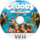 Die Croods: Steinzeit Party! Wii disc (SVVPAF)