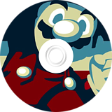 New Super Mario Bros. Wii ANDY AFRO'S Custom Collection Volume 1. CUSTOM disc (APRP08)