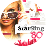 StarSing:'80s Volume 1 v2.0 CUSTOM disc (CS2PZZ)