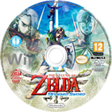 The Legend of Zelda: Skyward Sword (Demo) Wii disc (DAXP01)