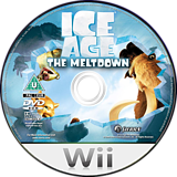 Ice Age 2: The Meltdown Wii disc (R2AX7D)