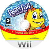 Freddi Fish: Kelp Seed Mystery Wii disc (R2FP70)