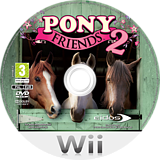 Pony Friends 2 Wii disc (R2RP4F)