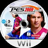 Pro Evolution Soccer 2009 Wii disc (R2WXA4)
