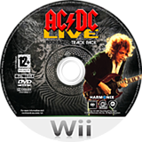 AC/DC Live: Rock Band Song Pack Wii disc (R33P69)