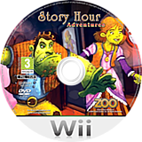 Story Hour: Adventures Wii disc (R3AP7J)
