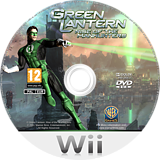 Green Lantern: Rise of the Manhunters Wii disc (R3LPWR)