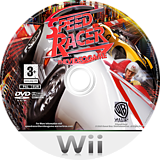 Speed Racer: The Videogame Wii disc (R3PPWR)