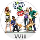 The Sims 2: Pets Wii disc (R4PP69)