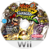 Mario Strikers Charged Football Wii disc (R4QP01)