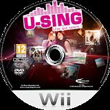 U-Sing Wii disc (R58PMR)