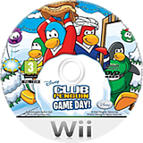 Club Penguin: Game Day! Wii disc (R59D4Q)