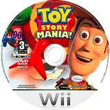 Toy Story Mania! Wii disc (R5IP4Q)
