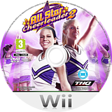 All Star Cheerleader 2 Wii disc (R5YD78)