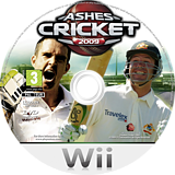 Ashes Cricket 2009 Wii disc (R6KU36)