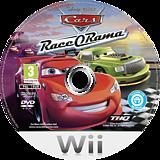 Cars Race-O-Rama Wii disc (R6OP78)